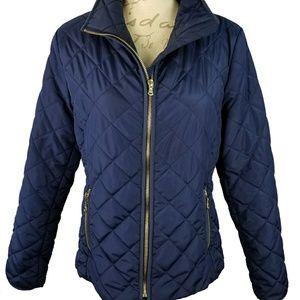Old Navy Quilted Blue Jacket